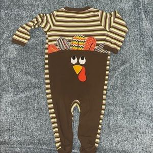Koala Kids 'First Thanksgiving' footed outfit!